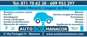 AUTOBOX MANACOR